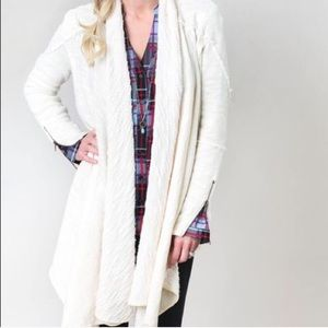 Free People•In The Loop Open Front Cardigan Small